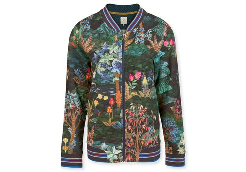 Pip Studio Jacket Nicos Garden Big Blue