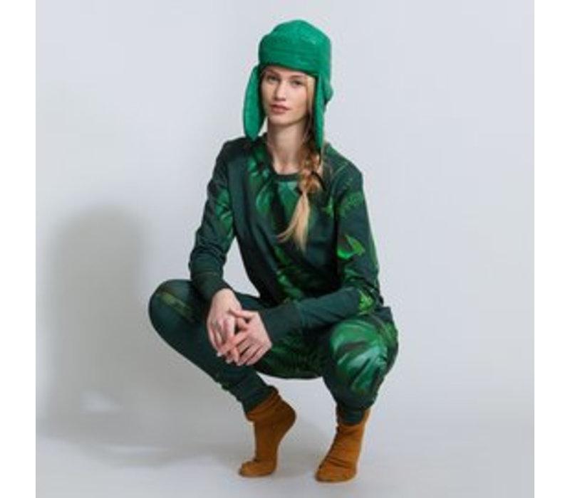 Dames huispak Forest Green