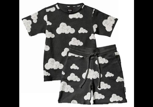 Snurk Homewear Kids Shortama Cloud Black