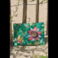 Beach Pouch Exotic Garden