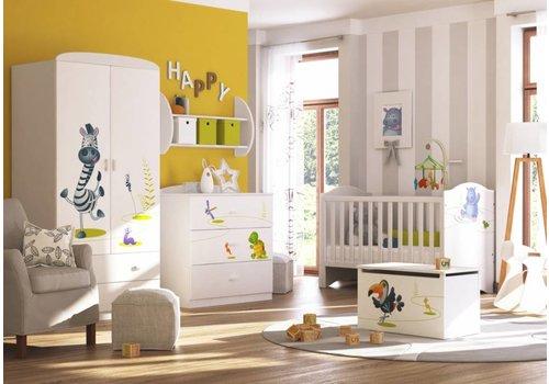 Babykamer Gelukkige Dieren