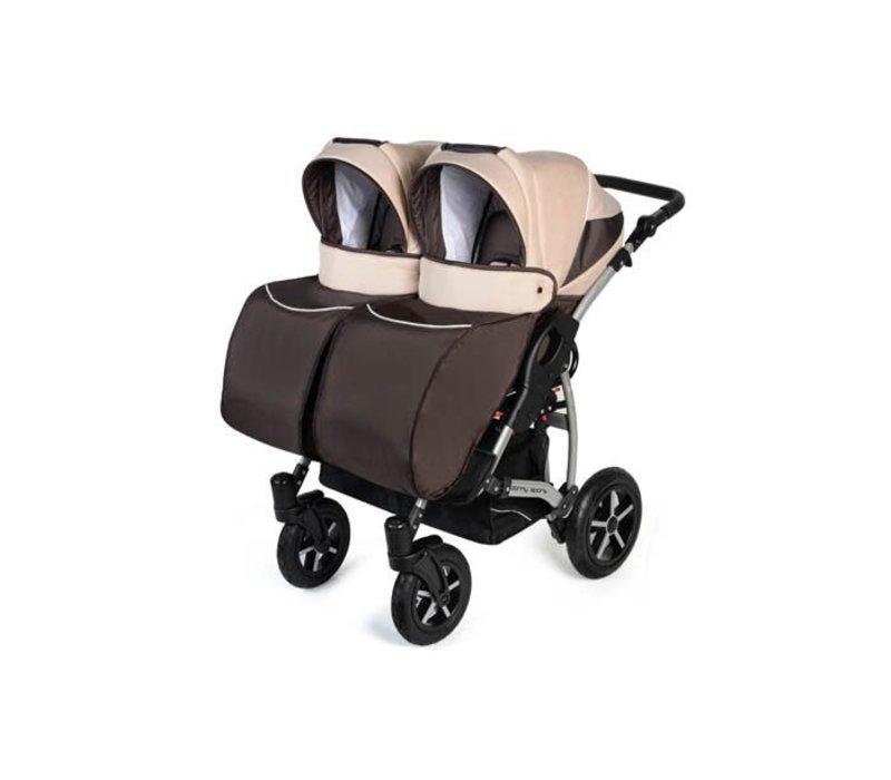 Tweeling kinderwagen Linen - 03