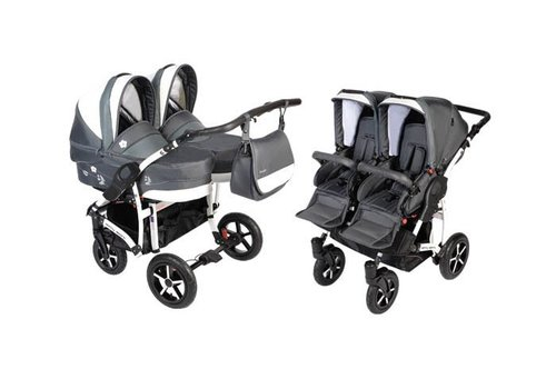 Tweeling kinderwagen - Butterfly Twin