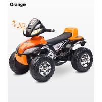 Elektrische kinderquad Cuatro - oranje