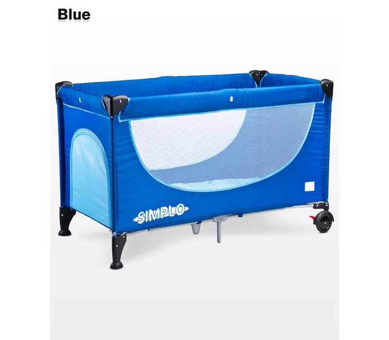Baby logeerbedje Simplo - blauw