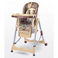 Kinderstoel Magnus Funny beige heeft een leuke vrolijke print