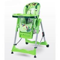 Kinderstoel Magnus Funny groen heeft een leuke vrolijke print