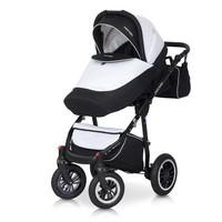 Kinderwagen combi Mondo BL - Zwart-wit