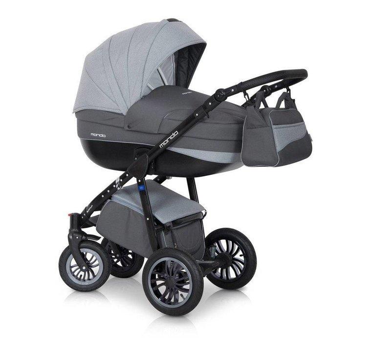 Kinderwagen combi Mondo BL - Grey F