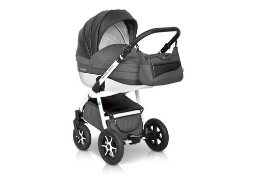 Kinderwagen combi Mondo Ecco - Carbon