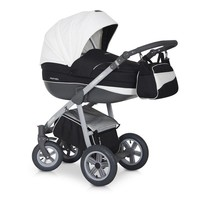 Kinderwagen combi Mondo GL-Zwart-wit