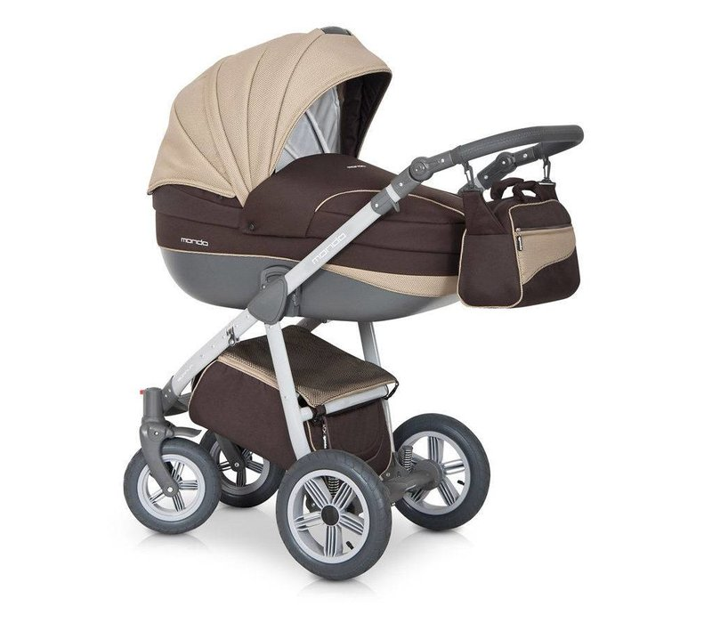 Kinderwagen combi Mondo GL-Choco