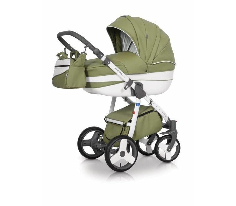 Kinderwagen combi Mondo P-Olijf