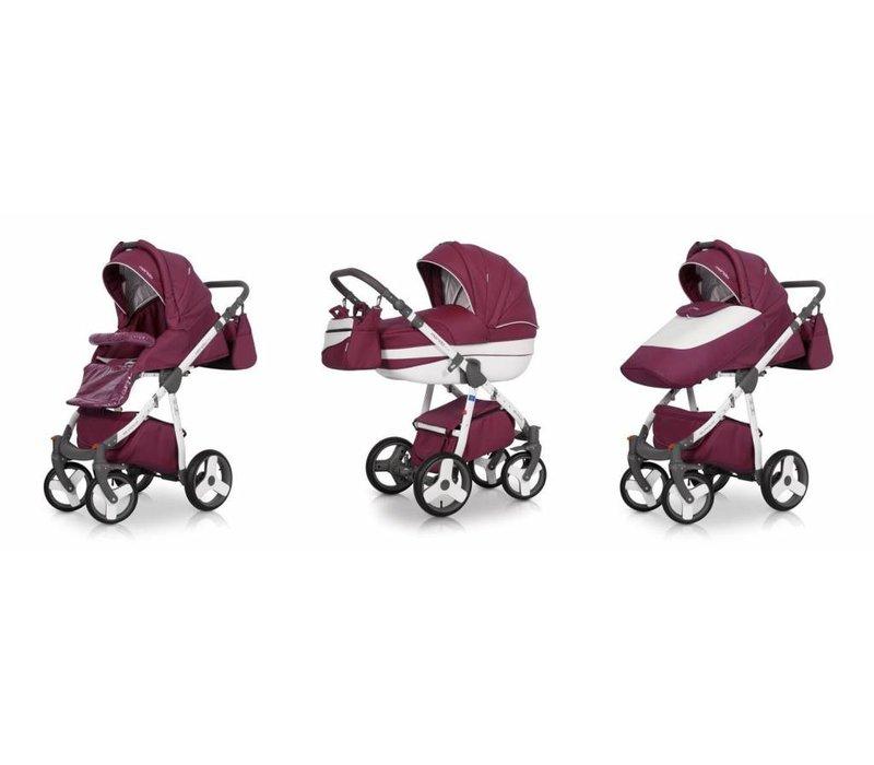 Kinderwagen combi Mondo P-Paars