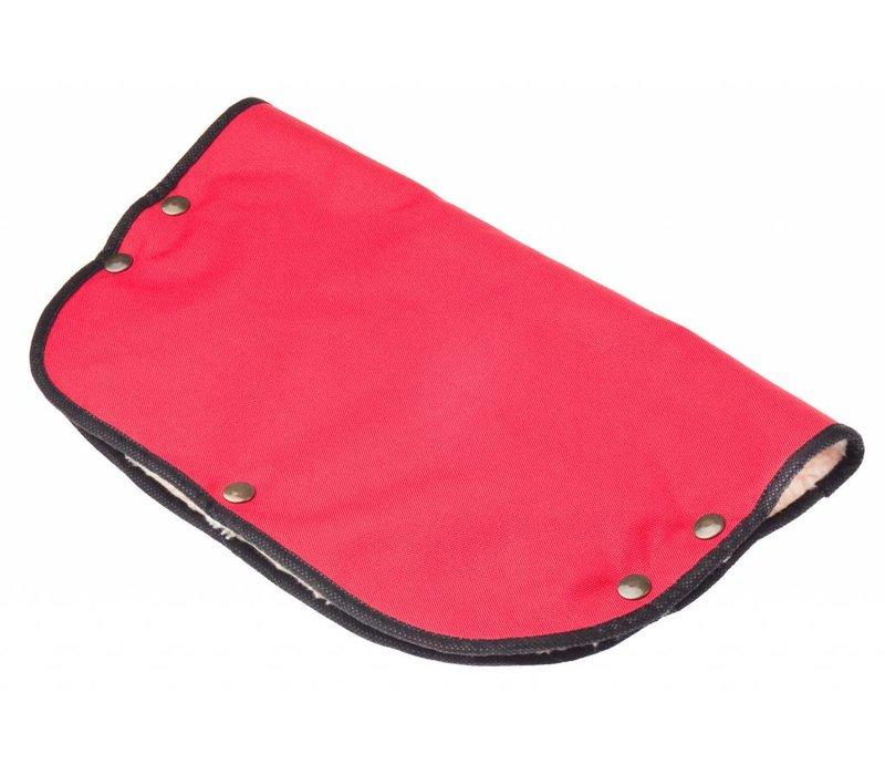 Handschoenen-Handwarmer voor de kinderwagen - rood
