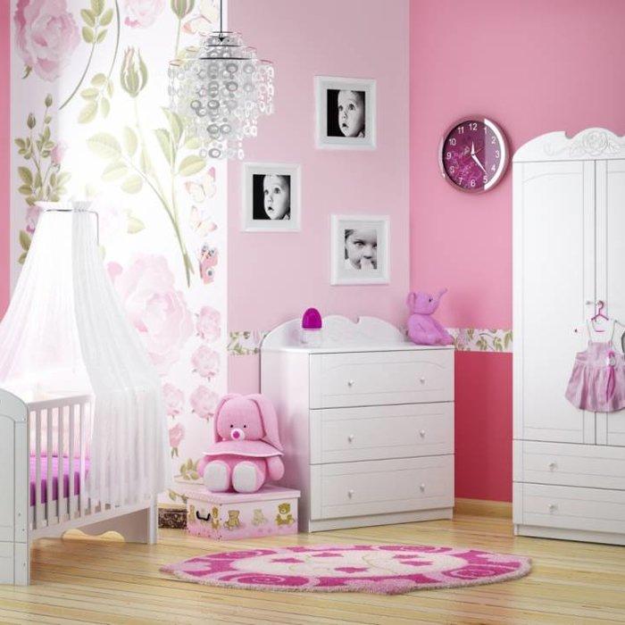 Babykamer - Bianco Fiori