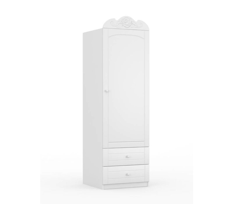 Kledingkast Bianco Fiori 60