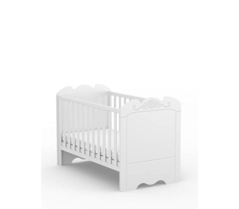 Baby ledikantje Bianco Fiori