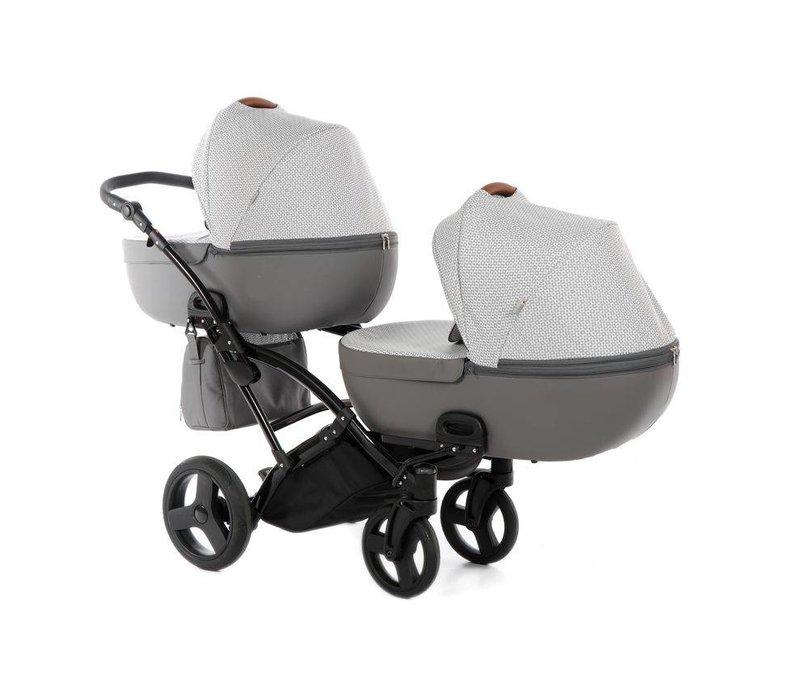 Tweeling kinderwagen - Duo II Slim - 1