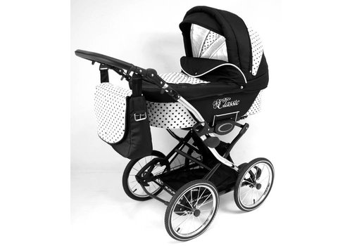 Retro kinderwagen 3 in 1 - Classic 02