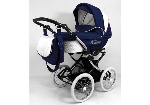 Retro kinderwagen 3 in 1 - Classic M