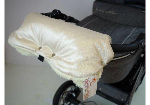 Universele handschoenen voor de kinderwagen - beige
