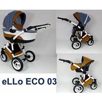 Complete kinderwagen combi - Ello Eco 03