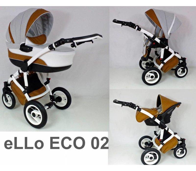 Complete kinderwagen combi - Ello Eco 02