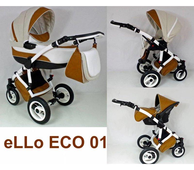 Complete kinderwagen combi - Ello Eco 01