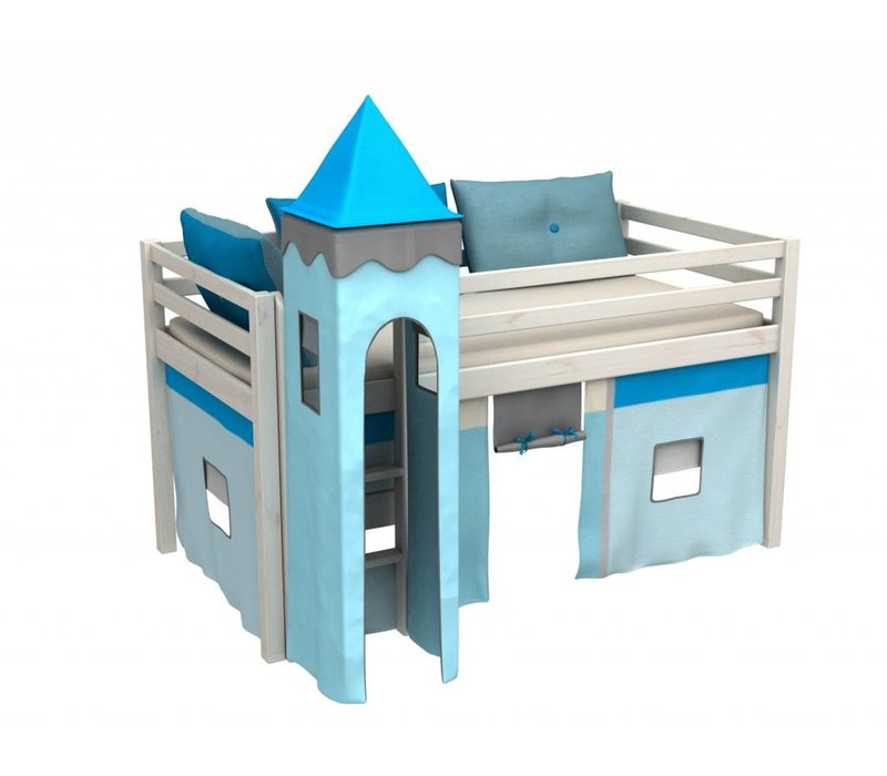 Halfhoogslaper Gabriel incl. tent, toren en matras