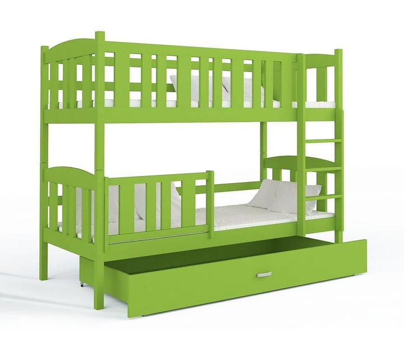 Stapelbed Kyan - groen