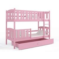 Stapelbed Kyan - roze