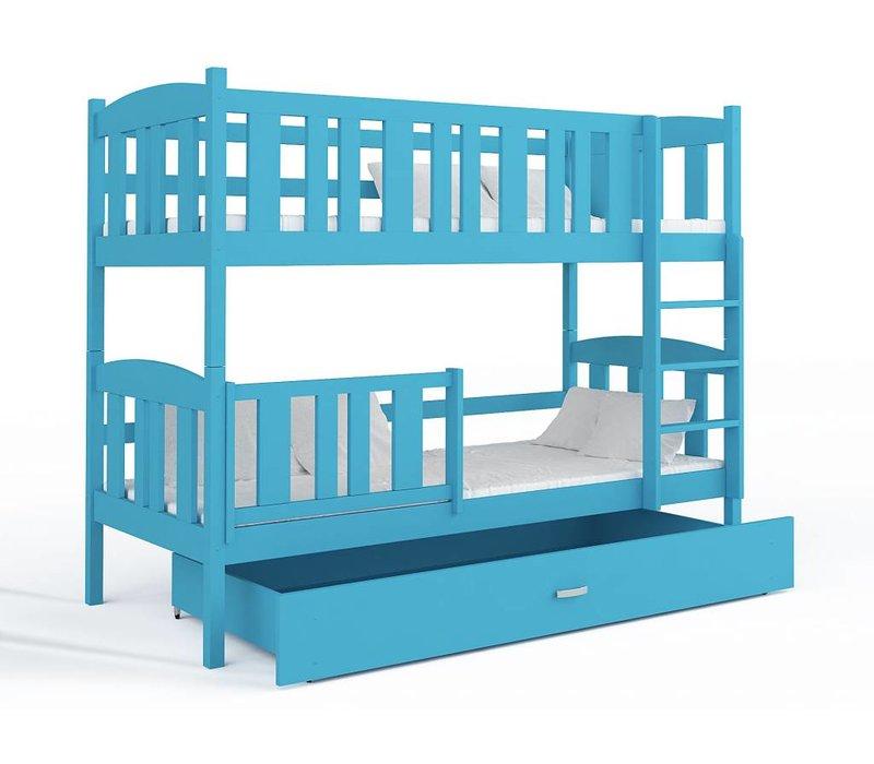 Stapelbed Kyan - blauw