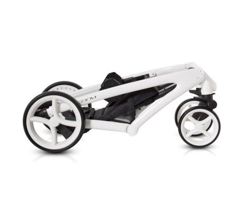 Combi kinderwagen Storm. Een staaltje innovatieve technieken en vakmanschap!