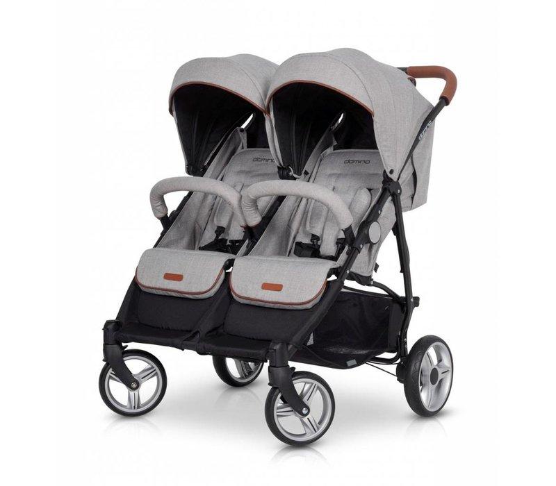 Domino - de ideale tweeling wandelwagen / buggy.