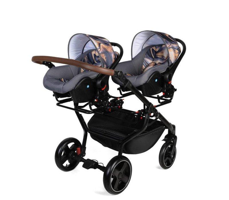 Quick Twin - Een tweeling kinderwagen waar jij mee uitblinkt.