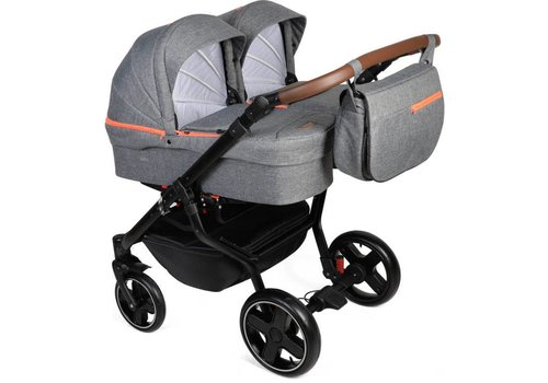 Tweeling kinderwagen - Quick Twin 08