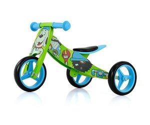 Wonderlijk Houten driewieler loopfiets Jake bobby - Baby en Kinderwereld KJ-34