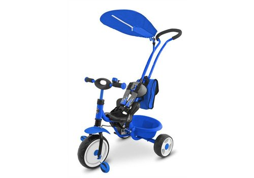 Driewieler Bob DeLux blauw