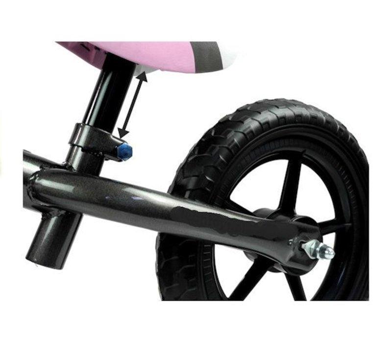 Metalen loopfiets Corrado - roze