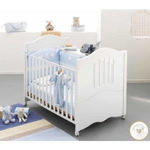 Baby ledikantje Giano - wit
