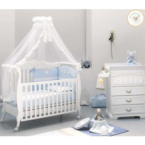 Complete babykamer Trionfo Diamonds- wit