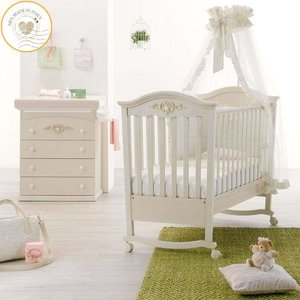 Complete babykamer Pregio - antiek wit