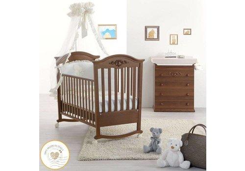 Complete babykamer Pregio - antiek walnoot