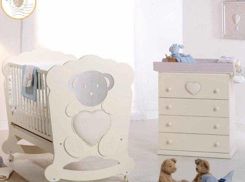 Complete babykamer Charme Diamonds - ivoor