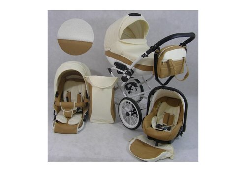 Retro kinderwagen 3 in 1 - Rita Lux 7
