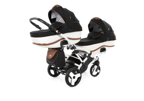 Tweeling kinderwagen - Dalga Lift Duo Slim 4