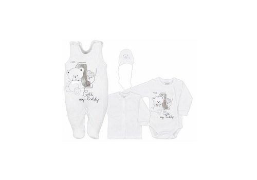 4-Delige babykledingset - Teddy