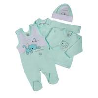 4-Delige babykledingset Felix - Groen