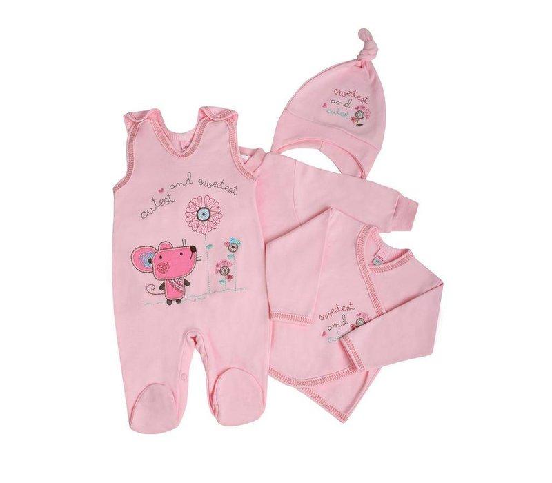 4-Delige babykledingset Friends - Cutest